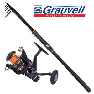 Grauvell Set Carbon Casting 15-60gr 3,00m
