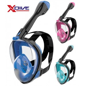 XDive Crystal Full Face Mask L/XL