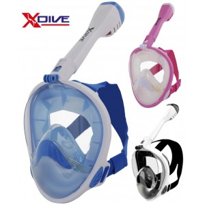 XDive Crystal Full Face Mask Junior XS