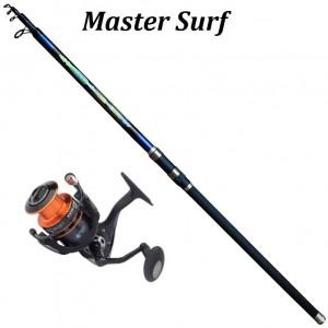 Set Master Surf Carbon 150gr 4,00m