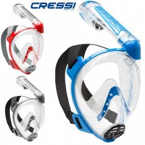 Cressi Full Face Mask Duke M/L