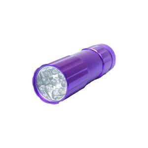 Φακός Αλουμινίου UV LED 0248