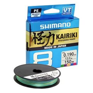 Shimano Νήμα Kairiki 8 Multi Color 300m