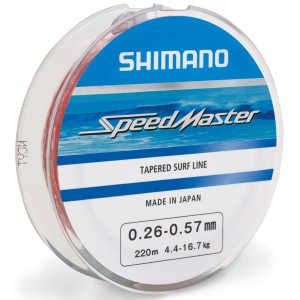Shimano Πετονιά Speedmaster Tapered Surf 220m