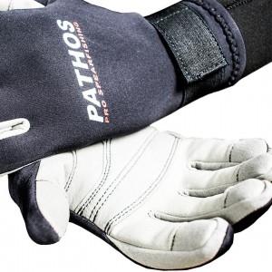 Pathos Γάντια Amara Μαύρα 1.5mm