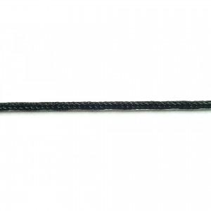 Marlin Κορδόνι Polyester Cored Μαύρο 1.5mm
