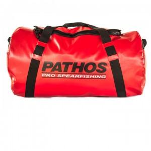 Pathos Σάκος 70lt Zip Κόκκινος