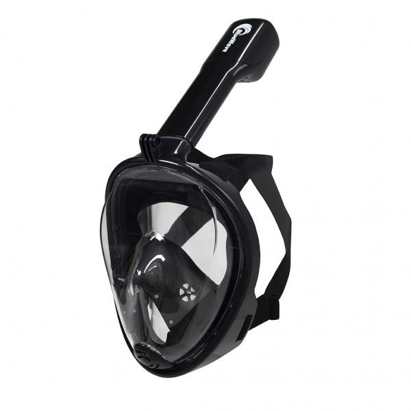 Blue Wave Full Face Mask L/XL Μαύρο Μάσκες & Πέδιλα