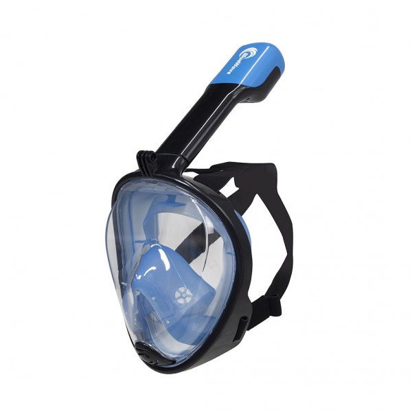 Blue Wave Full Face Mask L/XL Μαύρο-Μπλε Μάσκες & Πέδιλα