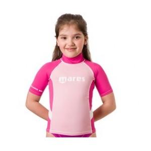 Mares Rash Guard Junior S/S Ροζ