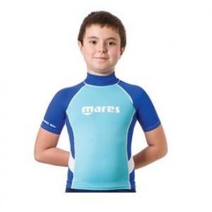 Mares Rash Guard Junior S/S Μπλε