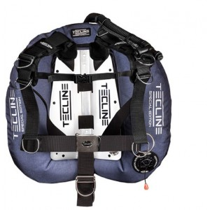 Tecline Donut 22 Special Edition - Blue With Comfort Harness & BP
