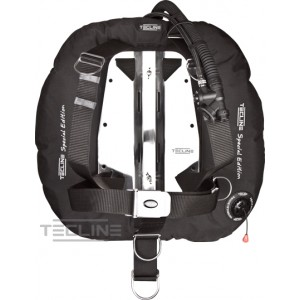 Tecline Donut 22 Special Edition - Black With Dir Harness & BP