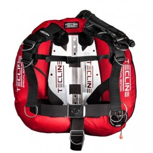 Tecline Donut 22 Special Edition - Red With Comfort Harness & BP