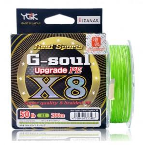 YGK Νήμα G-Soul X8 Upgrade 200m