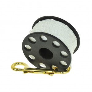 TecLine Spool 45m With Brass 100 mm Snap